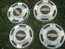 Chevy Bowtie  Dog Dish Style Hubcap - set of 4 in Naperville, Illinois
