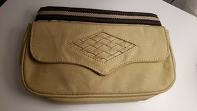 Khaki Canvas Clutch Bag in Glendale Heights, Illinois