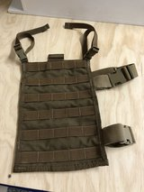 "USMC Issued 12"" Drop Leg MOLLE Panel Coyote in Camp Pendleton, California"