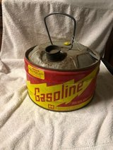 Antique Midwest Can Co. 21/2 gallon Gas Can (item #51) in Kingwood, Texas
