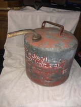 Eagle Antique 4 gallon galvanized Gas Can (item #52) in Kingwood, Texas