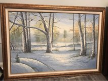 Beautiful Framed Artwork Signed Painting in Wilmington, North Carolina