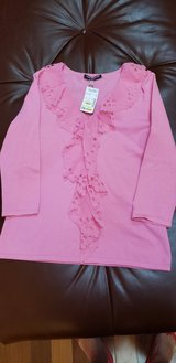 New Pink Top with Ruffles in Aurora, Illinois