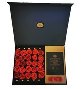 Rose box with 25 x Infinity preserved roses of Diamonia Rose. Exceptional gift. in Ramstein, Germany
