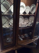 china cabinet with china in Fort Polk, Louisiana