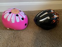 Bike Helmets-kids size small in Houston, Texas