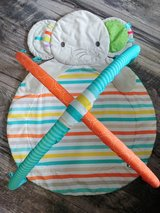 Baby activity elephant mat (mat only no toys) in Naperville, Illinois