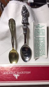 2 collectable silver spoons-$15 or shoot me an offer in Beaufort, South Carolina