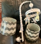 Crib mobile and lamp shades in Fort Polk, Louisiana
