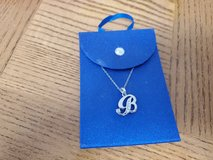 new B letter necklace in 29 Palms, California