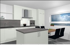 New build dulpex house- garage, A/C, 4 BR, 10 min to Clay in Wiesbaden, GE