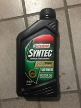 5x castrol syntec sae 10w-30 full synthetic motor oil in Ramstein, Germany