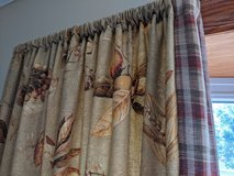 Elegant valance and curtains in St. Charles, Illinois