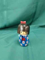 "Red Dots & White & Blue 5"" Kokeshi Doll #2479-50 in Camp Lejeune, North Carolina"