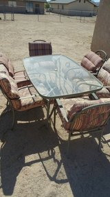 7 piece patio furniture set in 29 Palms, California