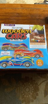 Wooden Car Set in Colorado Springs, Colorado