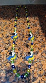 Parrot beaded necklace in The Woodlands, Texas