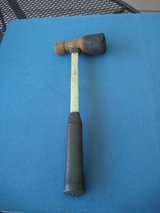"""16  1/2 """" LONG  RUBBER AND METAL MALLET in Chicago, Illinois"""