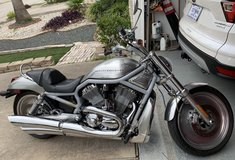 Harley Davidson 2002 V-Rod motorcycle in Houston, Texas