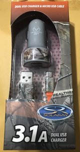 Micro USB Charger cord + 2 port Car Charger in Nellis AFB, Nevada