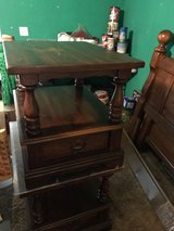 Kling solid pine end tables (2) in Beaufort, South Carolina