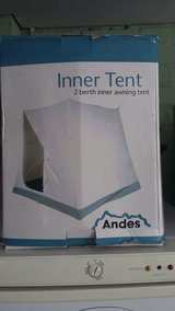 Inner tent in Lakenheath, UK