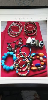 Assorted bracelets and bangels in Lakenheath, UK