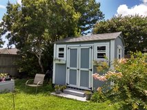She shed, man cave, garden house, storage! 10x12. 10.6 high. Almost new! in Wilmington, North Carolina