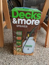 Decks & More 2-gallon (5 purposed use) Sprayer-like new only used once in The Woodlands, Texas