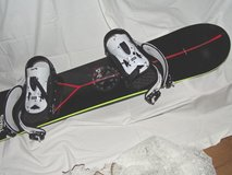 snowboard 130cm incl. bindings 130cm by Trans, Made in Germany in Ramstein, Germany
