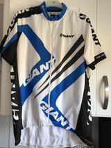 Giant cycling shirt in Lakenheath, UK