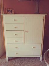 Dresser/armoire/chest of drawers white in Warner Robins, Georgia