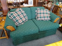 Hunter Green Love Seat in Chicago, Illinois