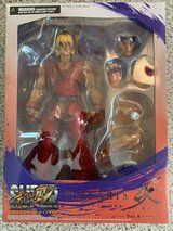 Street fighter play arts Ken action figure in Travis AFB, California