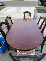 German Dining Room Table in Fort Lewis, Washington