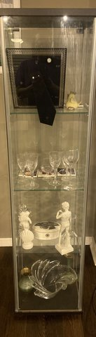 Glass Curio Cabinet in Ramstein, Germany