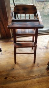 High Chair for Doll - wooden in Naperville, Illinois