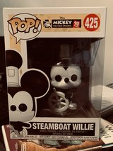 Pop Figure  Steamboat Willie in Naperville, Illinois