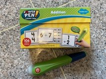 Power Pen addition and subtraction flash cards and Power Pen in Okinawa, Japan