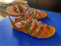 youth colorful sandals in Okinawa, Japan