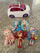 Shopkins Dolls and Car in Okinawa, Japan