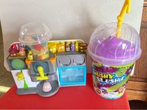 Grosseries Gang Mushy Slushie Machine Playset and Grosseries Collectors Cup in Okinawa, Japan