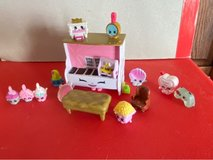 Shopkins piano, 3 charms, and a collection of various Shopkins in Okinawa, Japan