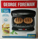 George Foreman 2-Serving Classic Plate Grill in Okinawa, Japan