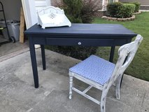 Antique Desk with Chair in Warner Robins, Georgia