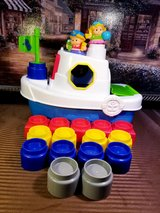 Fisher-Price Little People Builders Floaty Boat in Naperville, Illinois