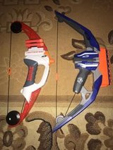 Nerf N-Strike StratoBow Bow and Mega Lightning Bow in Ramstein, Germany
