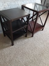 Glass Top Side Table in Warner Robins, Georgia