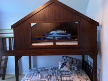 Pottery Barn treehouse bunk bed in Houston, Texas