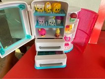 Shopkins Fridge and Assorted Shopkins in Okinawa, Japan